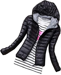 Womens Short Thicken Quilted Hooded Warm Winter Jacket Coat Thicken Short Down Coat