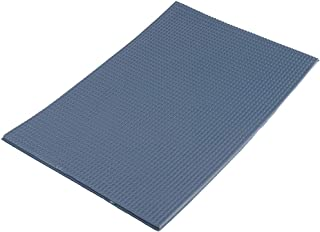 Fenteer Material Plástico De La Teja De Techo De La Placa Del Ladrillo De DIY Para La Fabricación Modelo - Azul, 1:50