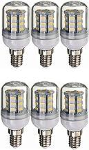 SGJFZD 12V 24V E14 LED Bulb Light, DC 12V-80V 4W, 260-300lumen 360 Degree for RV Camper Marine,Solar Power Light and Off G...