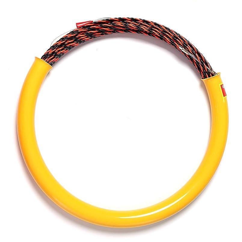ナラーバー信号置くためにパックUngfu Mall 30M 5mm ケーブルプッシャー カテーテル蛇行 ケーブルロッドフィッシュ ワイヤーガイド