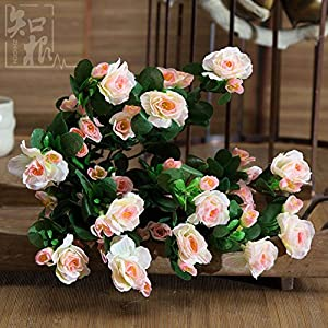 Household Decorations/Simulation Flower/Living Room Fake Flowers/Decorative Flowers/Silk Flower/Rhododendron Bouquet