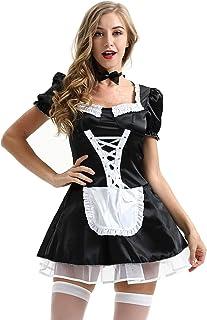 dbd147366b9b4d Amazon.fr : tablier femme - Noir : Vêtements
