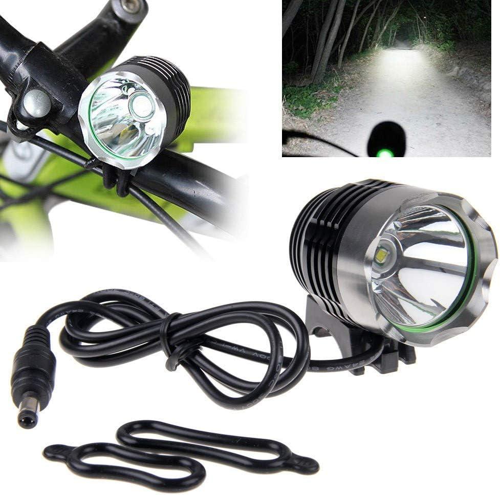 Powerful 60000LM 16x XML T6 LED Bicycle Light Bike Front Headlight Battery Set