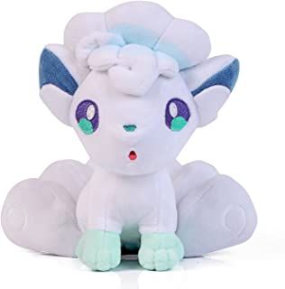 Wanna2017 Alolan Alola Vulpix Plush Doll Soft Figure Stuffed Toy 7 inch Gift