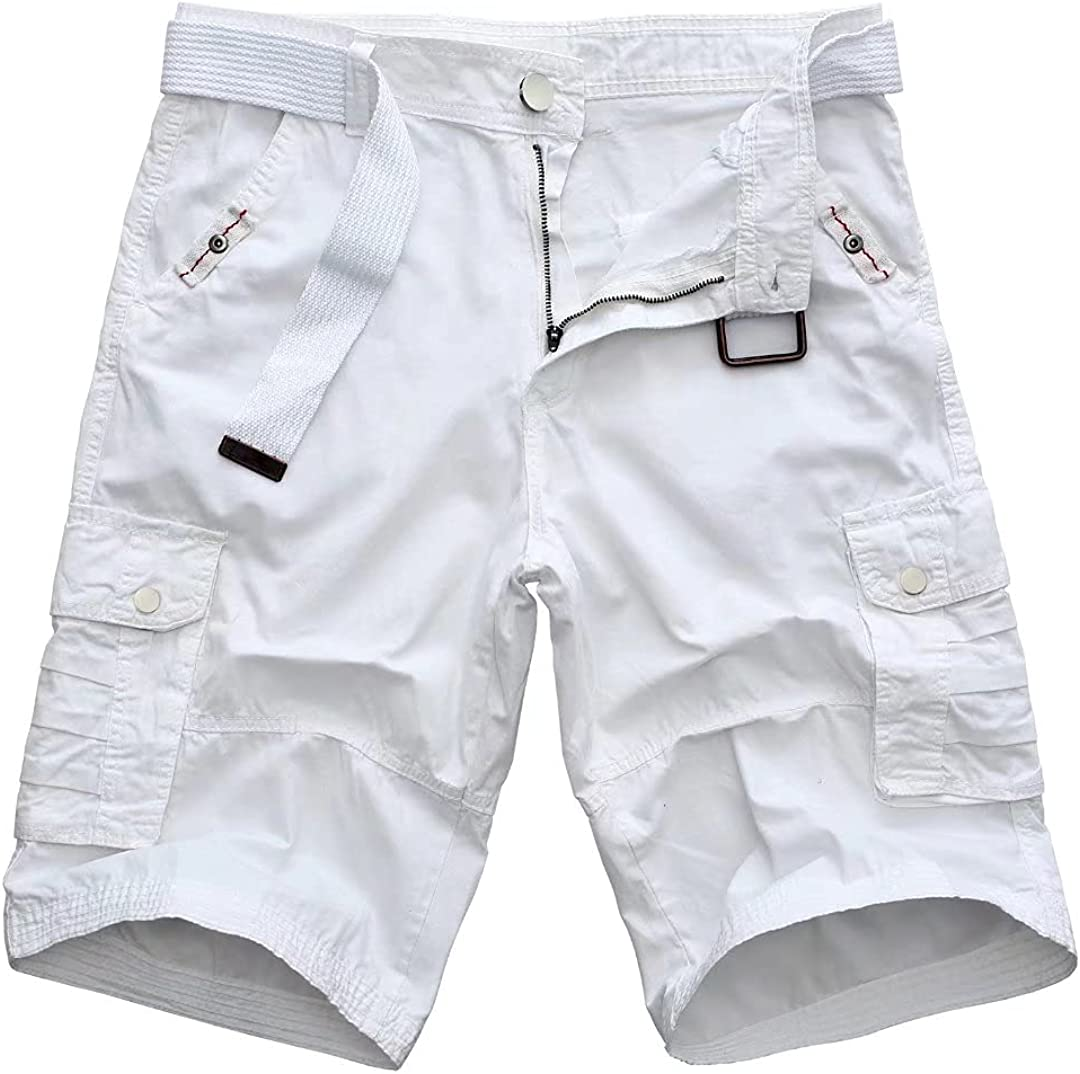 Mens Classic Cargo Short Multi-Pocket Casual Shorts Assorted Now on Ranking TOP6 sale Co