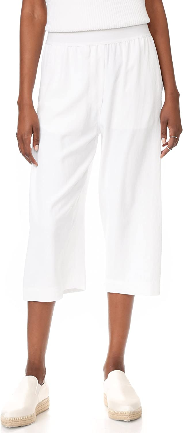 DKNY Womens Pull On Casual Cropped Pants