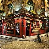 Poster 100 x 100 cm: Temple Bar Pub, Dublin von Stuart