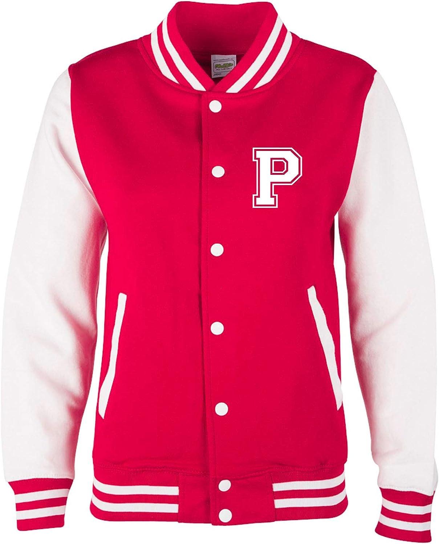 Jungen /& M/ädchen Baseball Jacke EZYshirt/® Personalisierte Kinder College Jacke mit Initiale College Jacke Kinder