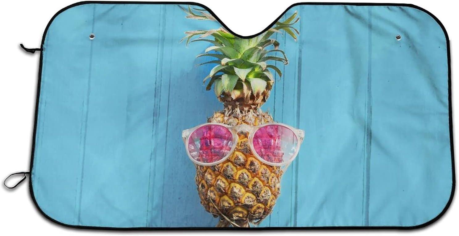 security Beach and Pineapple Car 100% quality warranty Windshield Blocks Uv Sun Curtains Shade