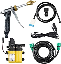 BANG4BUCK 120W Portable High Pressure Double Water Pumps Pressure Washer Kit Great for Cars Washing,Pets Showering,Window Cleaning,Watering