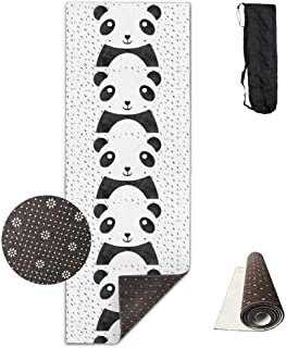 Bikini bag Yoga Mat Non Slip US and Canada Flag 24 X 71 Inches Premium Fitness Exercise Pilates Carrying Strap