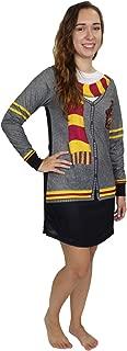 Hogwarts Gryffindor Women's Long Sleeve Nightgown Pajamas