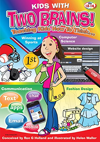 Kids With Two Brains Book 2 Teaching Kids How To Think Kindle Edition By Holland Ron G Waller Helen Children Kindle Ebooks Amazon Com