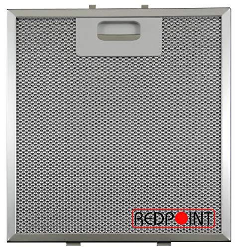 2 x filtres maille en aluminium pour HOTPOINT Hotte Vent filtre 57 x 47 cm