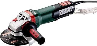 "Metabo- 6"" Angle Grinder - 9, 600 Rpm - 14.5 Amp w/Brake, Non-Lock Paddle, Auto-Balancer, Electronics, Drop Secure (60055..."