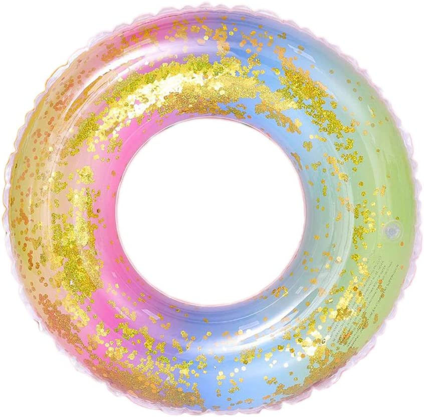 Abaodam Thicken NEW before selling ☆ Sequins Translucent Inflatable Rainbow Gradient Genuine