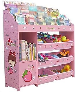 Organisateur de coffre à jouets Organisateur de rangement for jouet avec bacs en plastique, tiroir for étagère de boîte de...