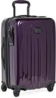 TUMI - V4 International Expandable Carry-On Luggage - 22 Inch Hardside Suitcase for Men and Women - BlackBerry