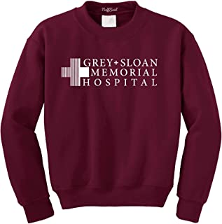 Grey Sloan Memorial Hospital Sweatshirt Sweater Crew Neck Pullover - Premium Quality