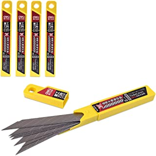 Deli SK530° 50x cuchillas, 9mm–Para folierer de gráficos/Car Wrapping Knife–Cuchillo/pantalla, cúter