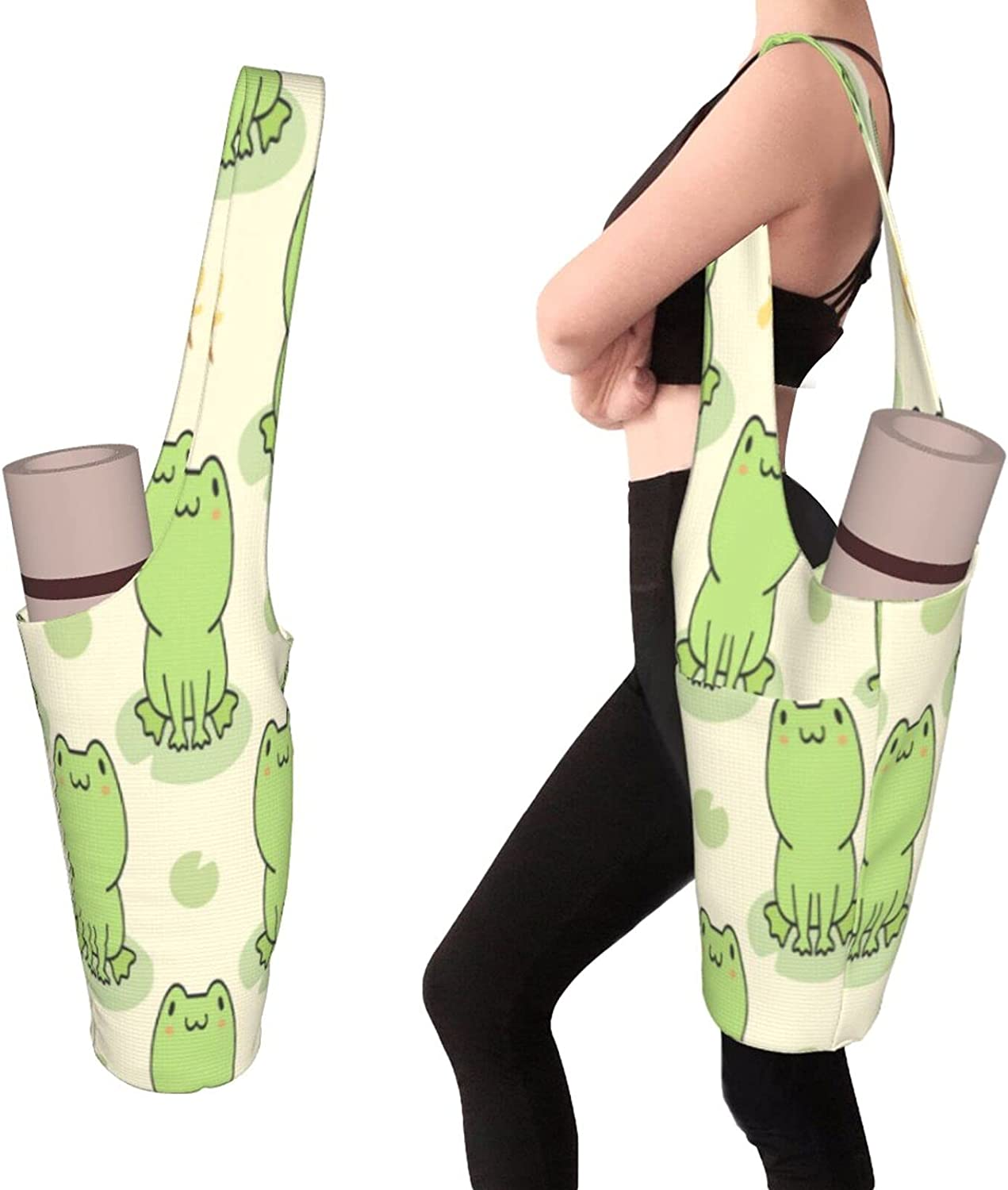 Yoga Mat Bag Tote Sling Carrier Side Pocket Fits Large With Most Cash special price Seattle Mall