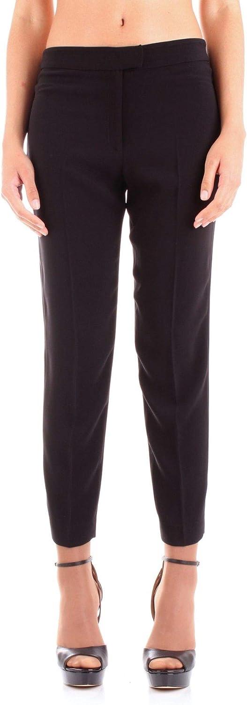FABIANA FERRI Women's 30023BLACK Black Cotton Pants