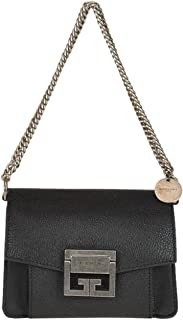 Givenchy Women's Mini GV3 Bag in grained Leather Black
