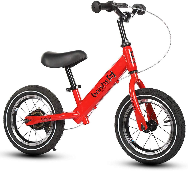 Mejor precio AFYH Balance Bike, First Bike-Coche de de de Equilibrio para Niños - Scooter para Niños pequeños - Bicicleta de Dos Ruedas de 12 Pulgadas - Freno de Mano - el Primer Coche para Niños (2-6 años).  Esperando por ti