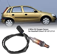 4 Wire O2 Oxygen Sensor Compatible With Vauxhall Corsa C/D 1.0 1.2 1.4 12V /16VFront Rear 4ZOS743
