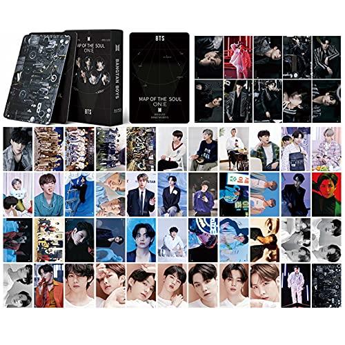 Dacitiery BTS Lomo Card, 54 piezas mini postales JIN SUGA V RM Jungkook Jimin J-Hope...