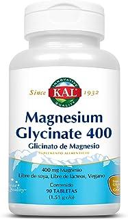 KAL Magnesium Glycinate 400, Glicinato de Magnesio 400 mg