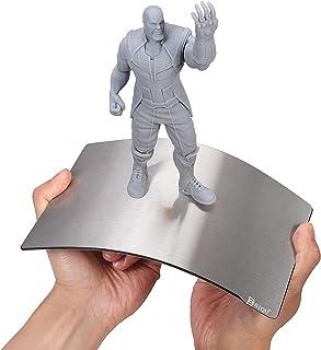 Resin Flexible Steel Plate Flex Bed,Resin Magnetic Build Plate for Elegoo Mars 2 Pro/Nova3D Bene 4 SLA 3D Printer 140x84mm