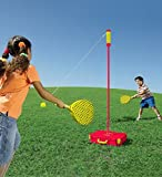 HearthSong Portable All Surface Classic Swingball Tetherball Outdoor Yard Game...