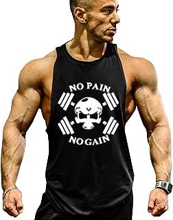 GZXISI Mens Stringer Bodybuilding Gym Tank Tops Workout Fitness Vest