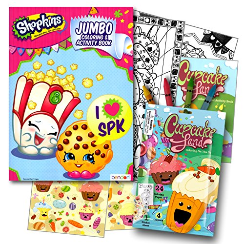 Top 10 shopkins party favors book for 2020