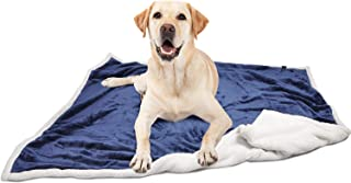 Large Dog Blanket,Super Soft Warm Sherpa Fleece Plush Dog Blankets and Throws for Large Medium Dogs Puppy Doggy Pet Cats,60