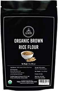 Naturevibe Botanicals Brown Rice Flour (2lbs) | Gluten Free | Rich in Protein | Supports Weight Loss [Packa...