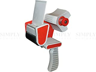 Packing Tape Dispenser Gun Packaging 48mm Box Low Noise Sticky Red Clear Fragile