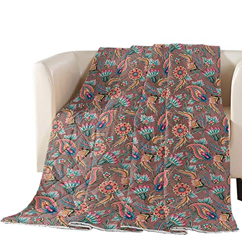 Buy Bargain Luck Sky Premium Coverlet Diamond Stitched QuiltedOversized Queen Paisley, Traditional I...