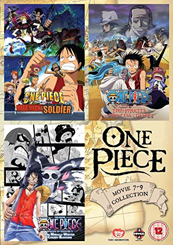 One Piece Movie 7-9 Triple Pack [Edizione: Regno Unito] [Import]