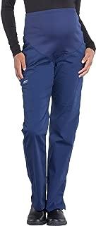 Workwear Professionals Women's Maternity Straight Leg Scrub Pant