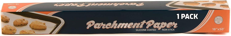 1 PACK Premium Baking Parchment Premiu Popular overseas Paper Non-stick Popular shop is the lowest price challenge 18x50
