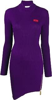 GCDS Luxury Fashion Womens FW20W02005111 Purple Dress | Fall Winter 19
