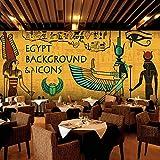 Papel Pintado Mural Mural Personalizado Papel Tapiz Antiguo Egipto Grandes Murales Ktv Bar Restaurante Temático Para El Sofá De La Sala Tv Dormitorio Fondo Decoración De Pared(-Bh0277)-330Cm(W)×21