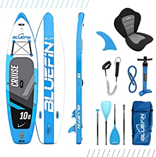 Bluefin Cruise SUP Board Set | Aufblasbares Stand Up Paddle Board | 6 Zoll Dick |..