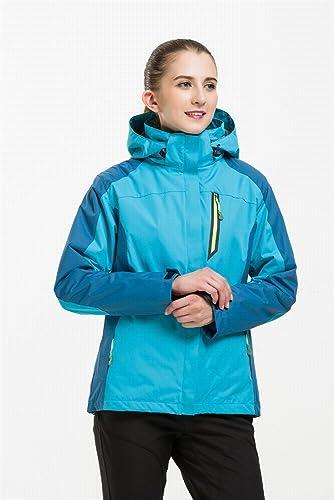 CWJ en Plein Air Anxieux Hommes Et Femmes Polaire Triple Ski Costume Alpinisme Veste VêteHommests d'assaut en Plein Air,F Femelle,M
