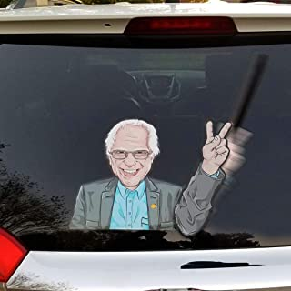 Adelia Co 6.5 x 4.5 Bernie Sanders for President Oval Bumper Sticker Decal 3 2020 United States Presidential Election Candidate GOP