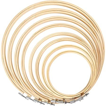3 inch Embroidery Hoop 7.6 cm 3 Diameter Superior Quality Wood Embroidery Hoop