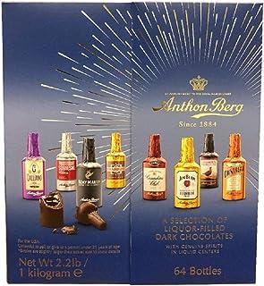 Anthon Berg Liqueur Bottles - Counter Disp (Pack of 64)