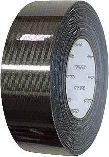 VViViD High Gloss Epoxy Black Carbon Fiber Vinyl Detailing Wrap Tape DIY Roll (2 Inch x 20ft)